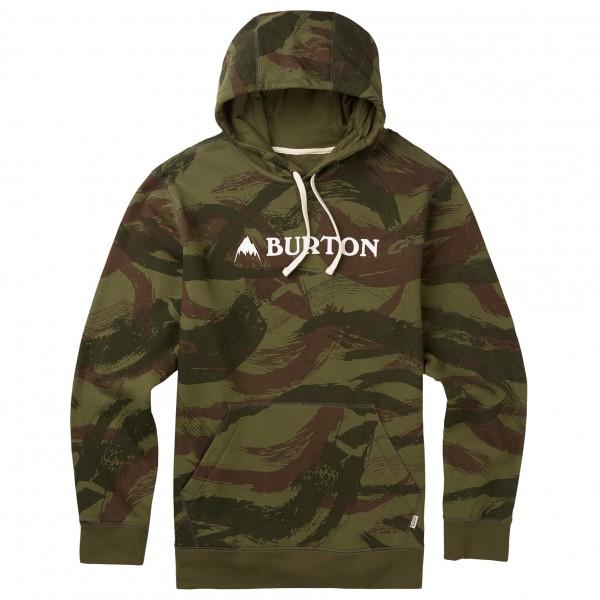 Burton - Mountain Logo Horizontal Pullover Hoodie Gr S blau