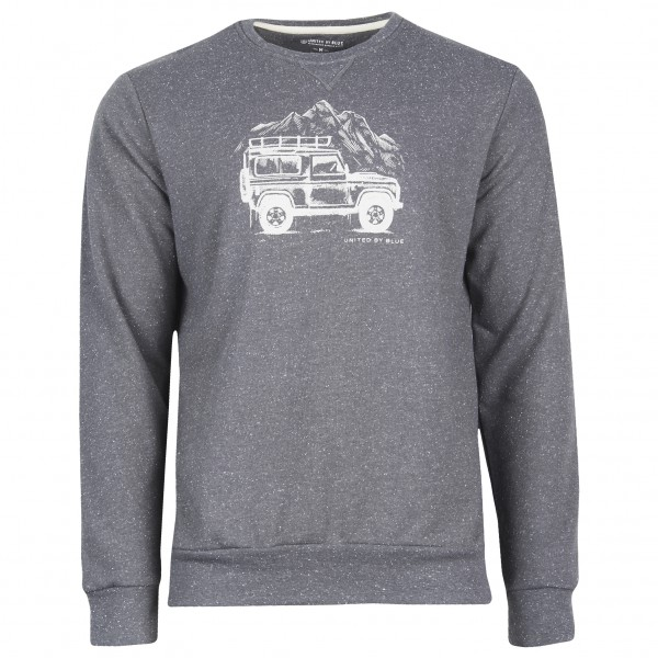 United By Blue - Adventure Mobile Crew Pullover gris