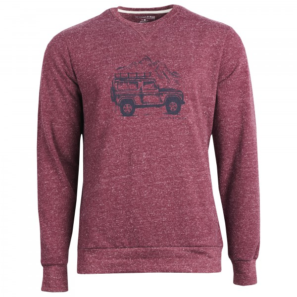 United By Blue - Adventure Mobile Crew Pullover rose/rouge