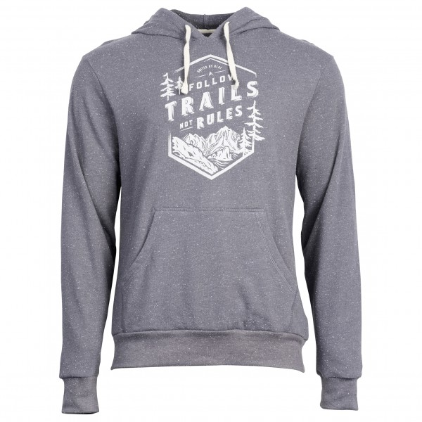 United By Blue - Follow Trails Hoodie - Pull-over à capuche gris