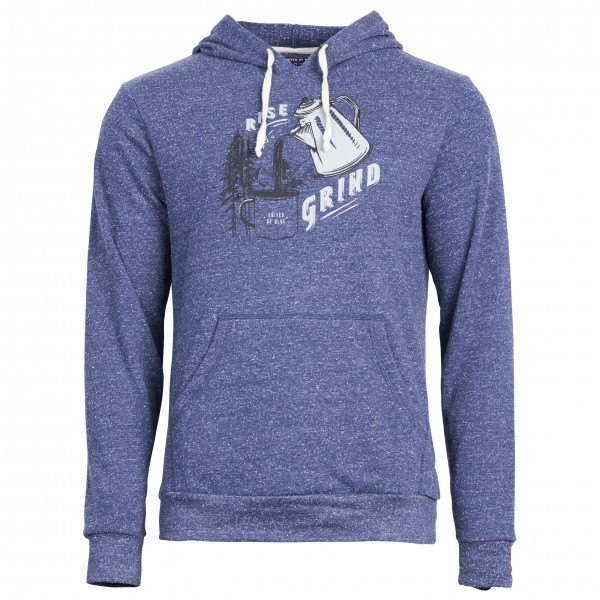 United By Blue - Rise & Grind Hoodie - Pull-over à capuche bleu/gris