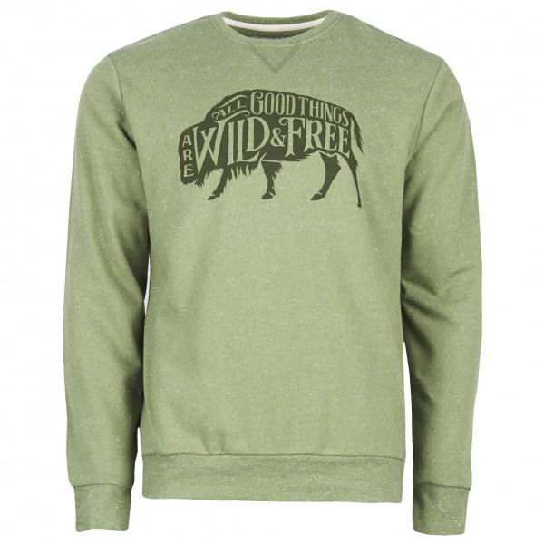 United By Blue - Wild & Free Crew Pullover vert