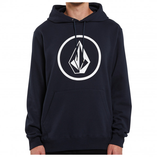 volcom - stone p/o cotton - hoodie maat s, zwart