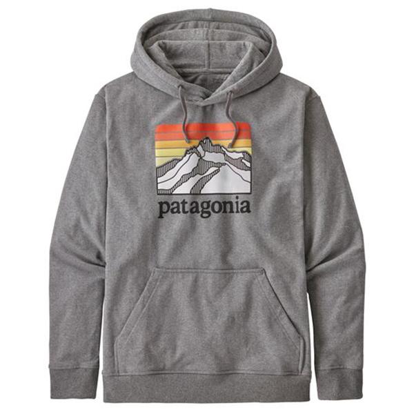 Patagonia - Line Logo Ridge Uprisal Hoody Size S  Grey