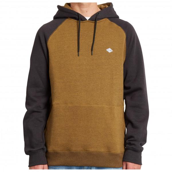 volcom - homak p/o - hoodie maat s, bruin/zwart