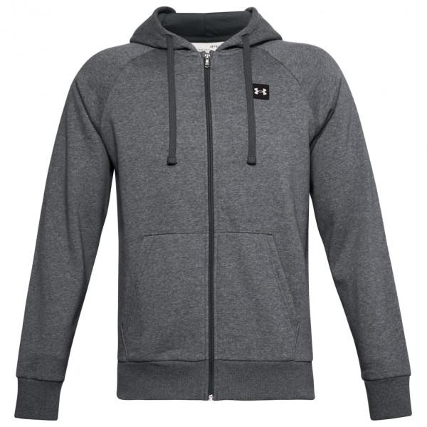Under Armour - Rival Fleece Fullzip Hoodie Size M - Regular  Grey/black