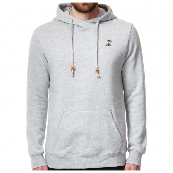 Tentree - Palm Sunset Embroidery Hoodie Size Xxl  Grey