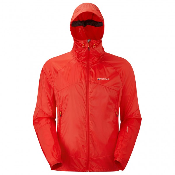 Montane - Lite-Speed Jacket - Windjacke - Gr. M, rot