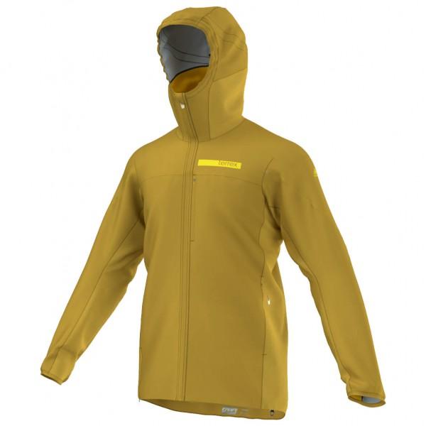 TX Agravic Hybrid Softshell Jacket - Windjacke Gr 52 orange/braun
