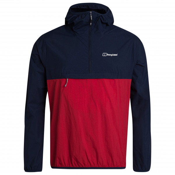 Berghaus - Corbeck Windproof Halfzip - Windproof Jacket Size L  Black/red
