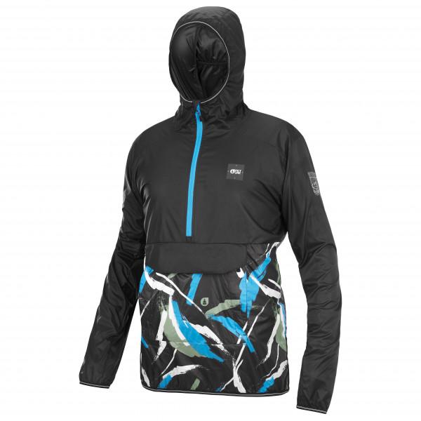 Maloja - Womens Argoviam. Multi 1/2 - Sport Shirt Size S  Blue/black
