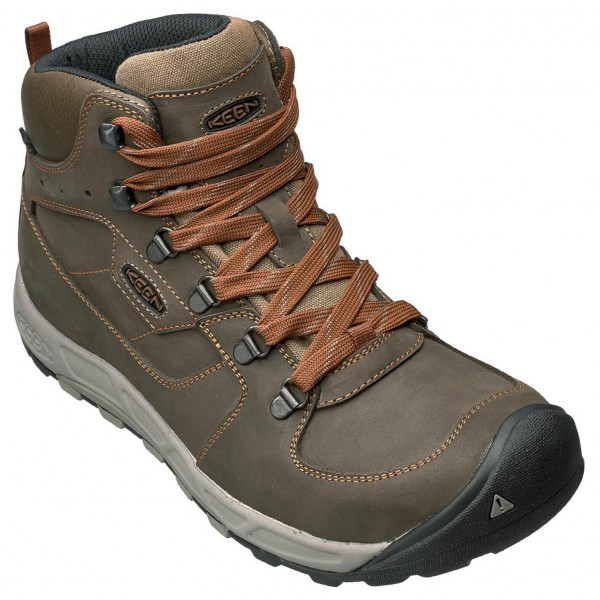 Keen - Westward Mid Leather WP Wanderschuhe Gr 11,5;8,5 braun