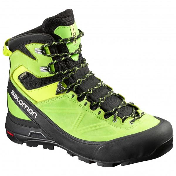 X Alp Mtn Gtx - Bergschuhe Gr 9,5 schwarz/grün