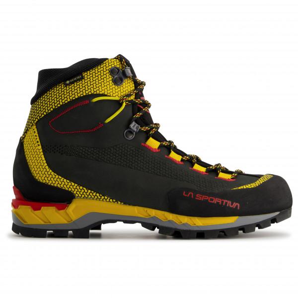 La Sportiva - Trango Tech Leather Gtx - Mountaineering Boots Size 47 5  Black/orange