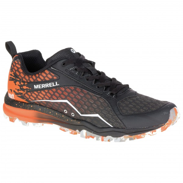 Merrell - All Out Crush Tough Mudder Trailrunningschuhe Gr 46 schwarz/braun - broschei