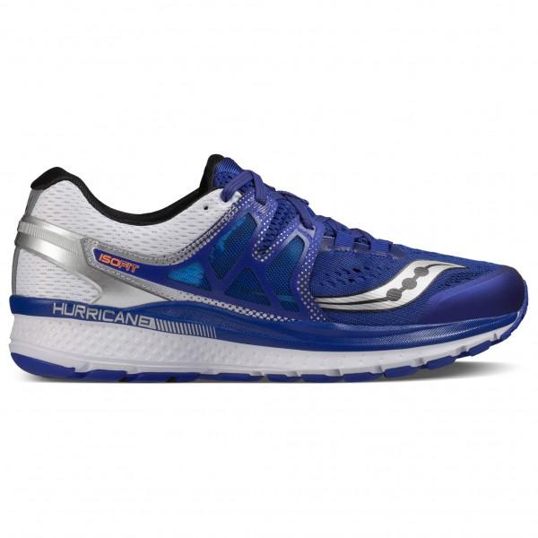 Saucony Hurricane Iso3 Trailrunningschoenen maat 11 blauw-grijs