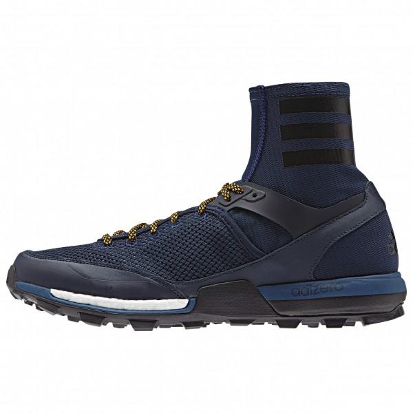 adidas Adizero XT Boost Trailrunningschoenen maat 9,5 blue- solar gold