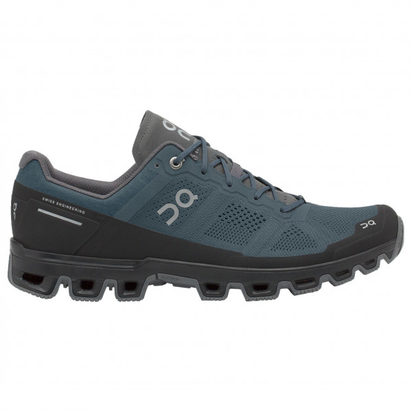On - Cloudventure - Trail Running Shoes Size 47  Black/purple/grey