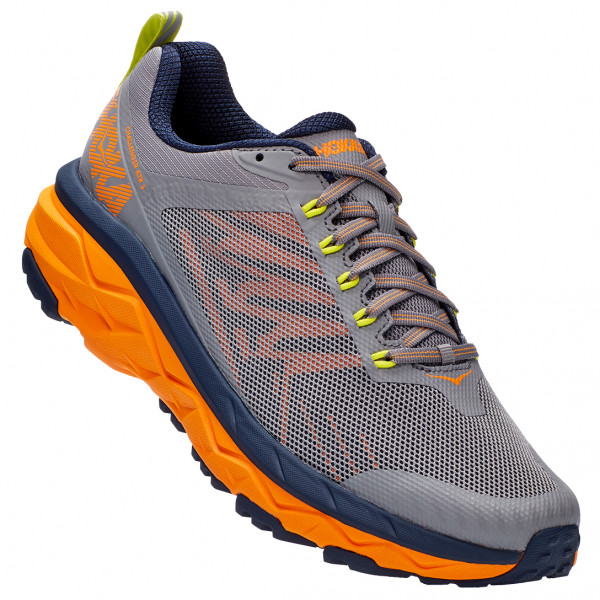 Hoka One One - Challenger Atr 5 - Trail Running Shoes Size 8 5  Grey