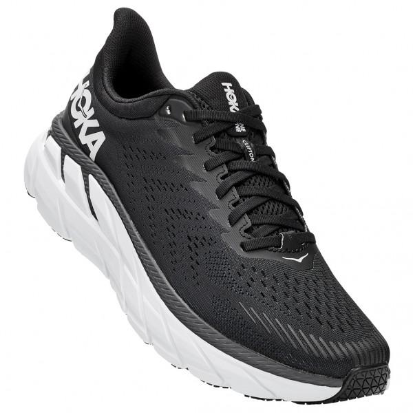 Hoka One One - Clifton 7 - Running Shoes Size 10 5 - Regular  Black/grey