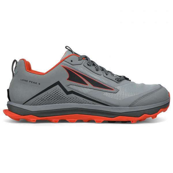Altra - Lone Peak 5 - Trail Running Shoes Size 11 5  Grey/black