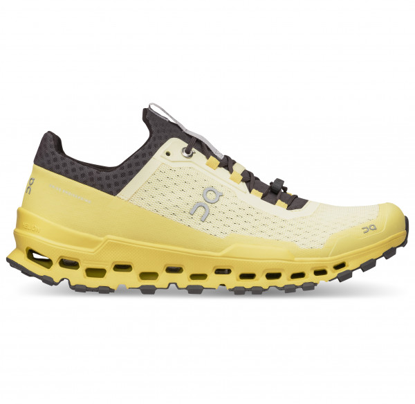 On - Cloudultra - Trail Running Shoes Size 44 5  Yellow/white/orange