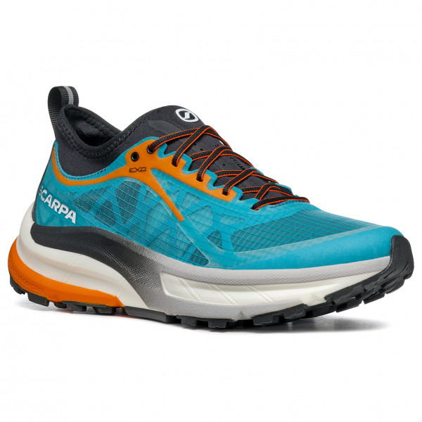 Scarpa - Golden Gate - Trail Running Shoes Size 46  Turquoise/black/grey