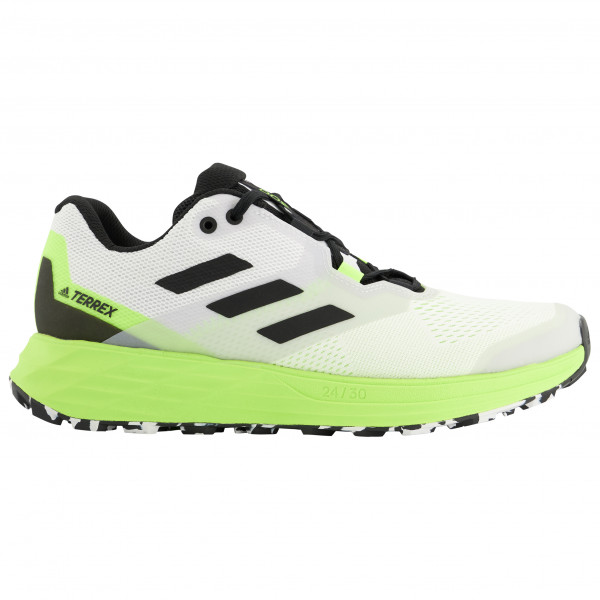Adidas - Terrex Two Flow - Trail Running Shoes Size 11 5  Grey/black/green
