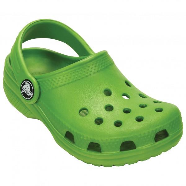 Crocs - Classic Outdoorsandale Gr M8 / W10 grün/oliv
