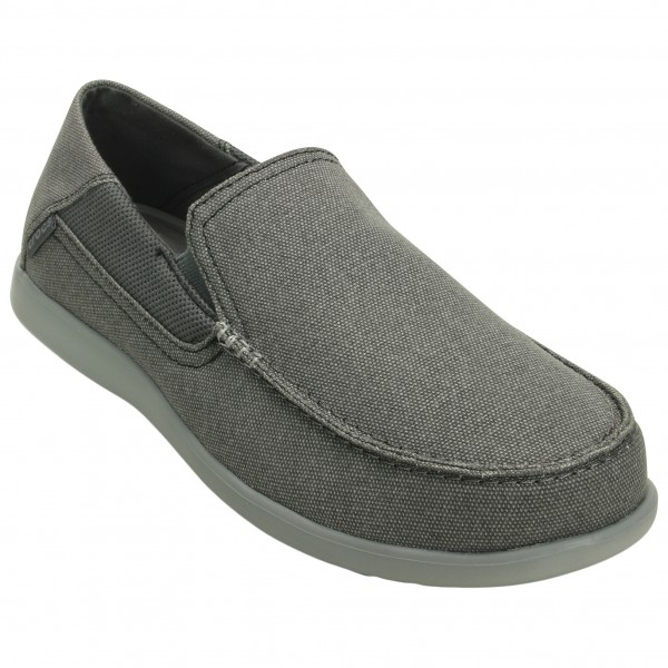 Crocs - Santa Cruz 2 Luxe Outdoorsandalen Gr M8 grau Sale Angebote