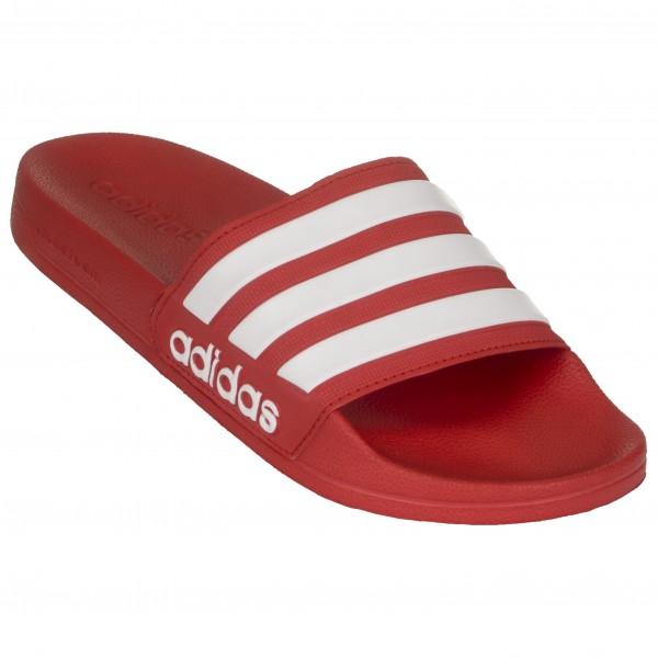 adidas Adilette Shower Sandalen maat 9 scarlet-scarlet