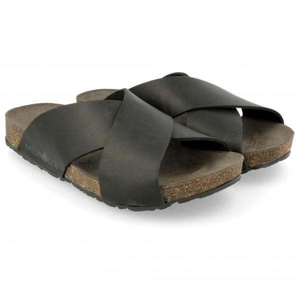 Haflinger - Mio Ungefttert - Sandals Size 45  Black/grey