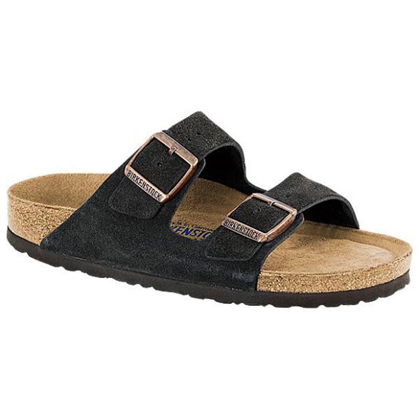 Birkenstock - Arizona Sfb Vl - Sandals Size 46 - Normal  Black/sand/brown