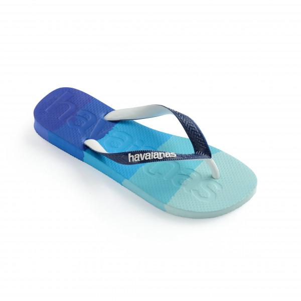 Havaianas - Top Logomania Multicolor - Sandals Size 37/38  Blue/turquoise