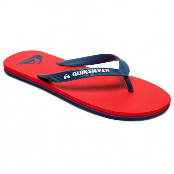 Quiksilver - Molokai - Sandals Size 8 - Eu 41  Red/blue