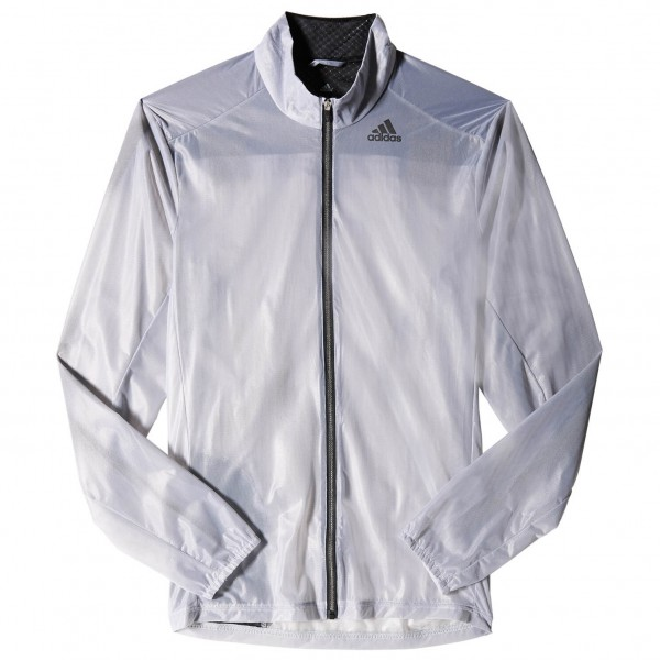 Adidas adizero Ghost Jacket M Joggingjack maat S, white-black
