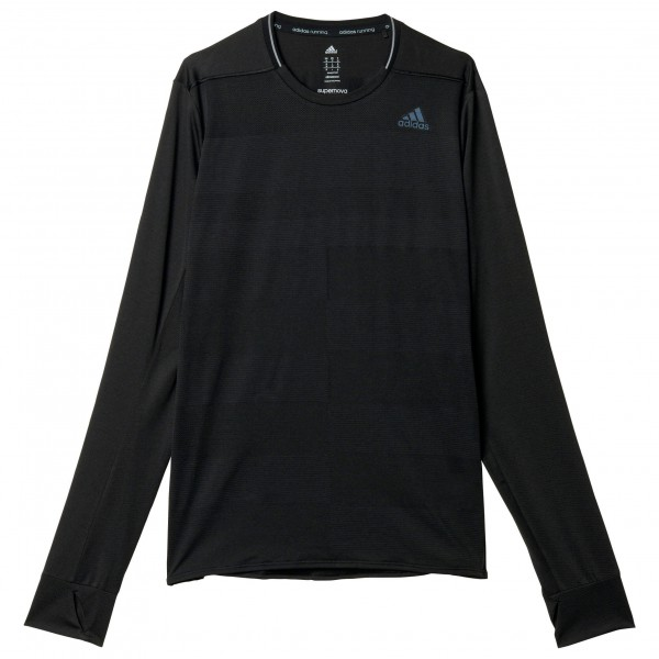 adidas Supernova Long Sleeve Joggingjack maat XL zwart