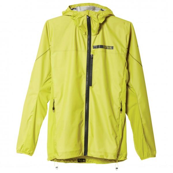 adidas TX Agravic Hybrid Softshell Jacket Joggingjack maat 48 geel