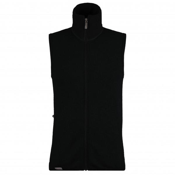 Woolpower - Vest 400 Merinoweste Gr M;S;XS;XXL;XXXL schwarz;schwarz/grau;schwarz/oliv
