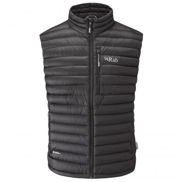 Rab - Microlight Vest Daunenweste Gr XXL schwarz