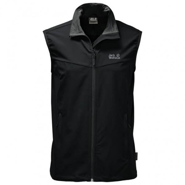 Jack Wolfskin Activate Vest Softshell-bodywarmer maat S zwart