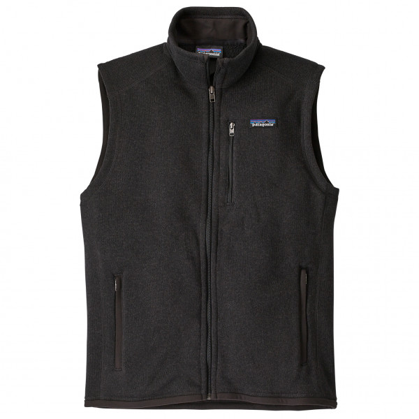 Patagonia - Better Sweater Vest - Synthetic Vest Size S  Black