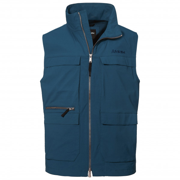 Schffel - Vest Amman - Softshell Vest Size 56  Blue