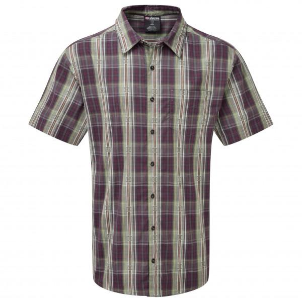 Sherpa - Seti S/S Shirt - Hemd Gr L grau/schwarz Preisvergleich