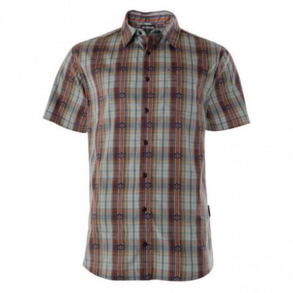 Sherpa - Seti S/S Shirt - Hemd Gr M grau/braun Preisvergleich