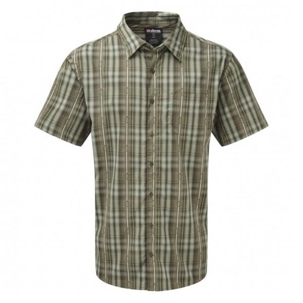 Sherpa - Seti S/S Shirt - Hemd Gr M grau/oliv Preisvergleich