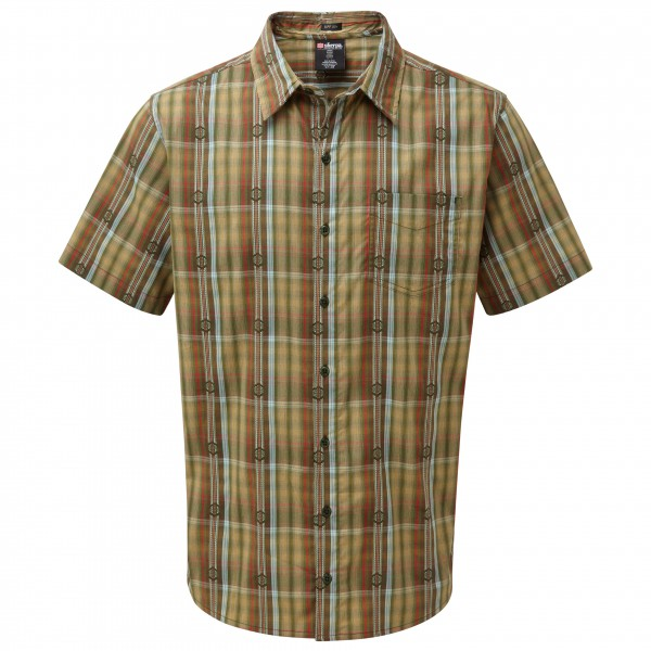 Sherpa - Seti S/S Shirt - Hemd Gr XXL braun/oliv/grau Preisvergleich