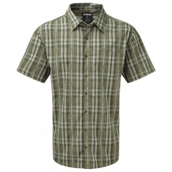 Sherpa - Seti S/S Shirt - Hemd Gr L;M;S grau/oliv;grau/braun;grau;grau/schwarz;rot/beige Preisvergleich