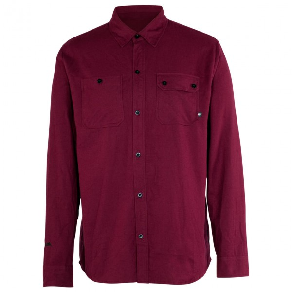 Armada - Baker Flannel Shirt Hemd Gr S blau