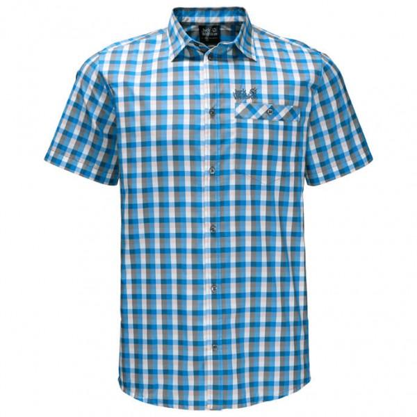 Jack Wolfskin - Napo River Shirt Hemd Gr M blau/grau Sale Angebote
